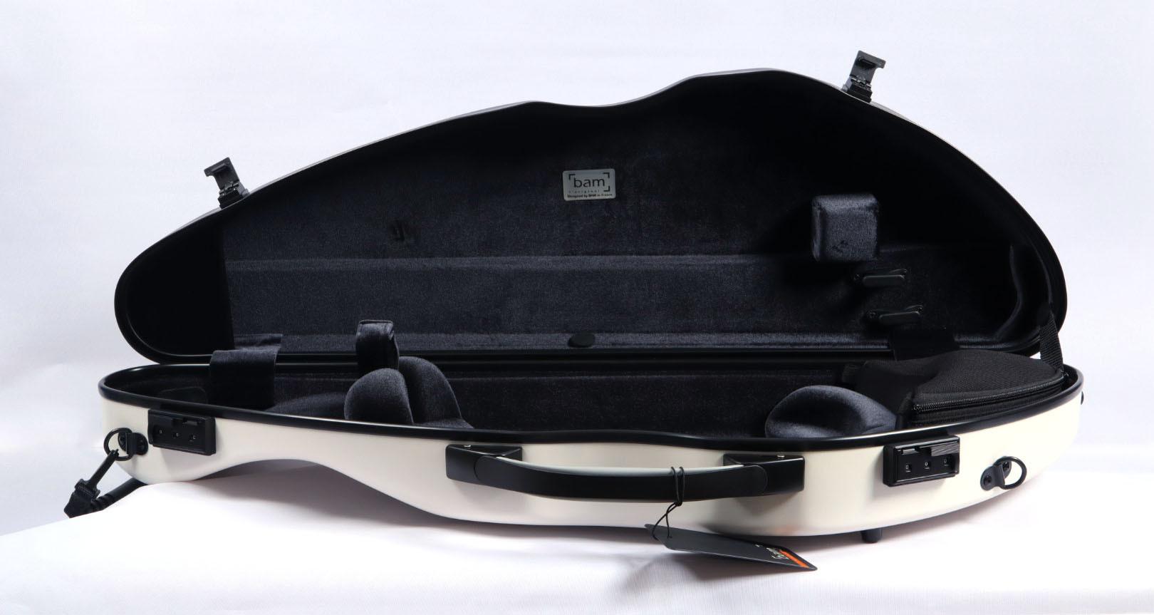 2000XLW - Hightech Slim Violin Case - White