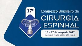 IPC no Congresso Brasileiro de Cirurgia Espinhal