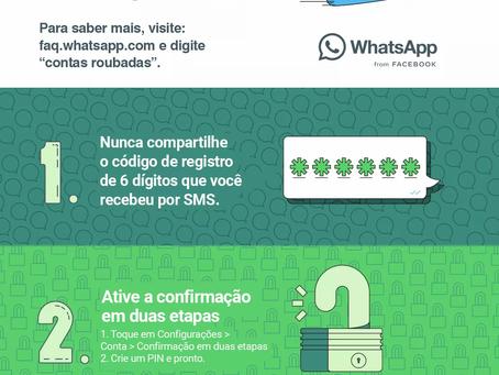 Fui clonado no WhatsApp, o que fazer?!