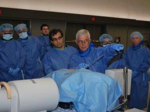 Cirurgia minimamente invasiva da coluna – (XLIF).