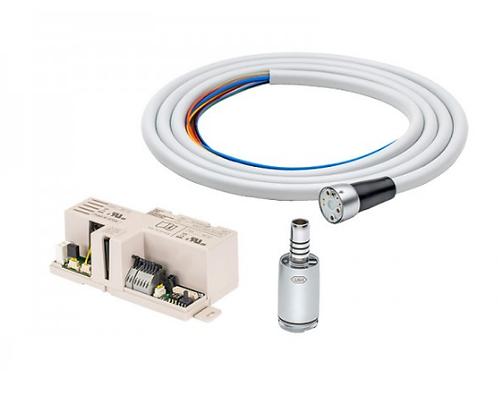 Kit Micromotor Elétrico Com Contra-Ângulo - Para Equipo