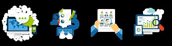 Os instrumentos e a metodologia são definidos em conjunto com o cliente, de acordo com as suas necessidades.