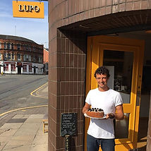 Nico in front of Lupo on Chapel Street on a sunny a