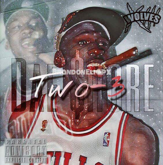Cover art for both $hore's birthday freestyle and single, Elite.