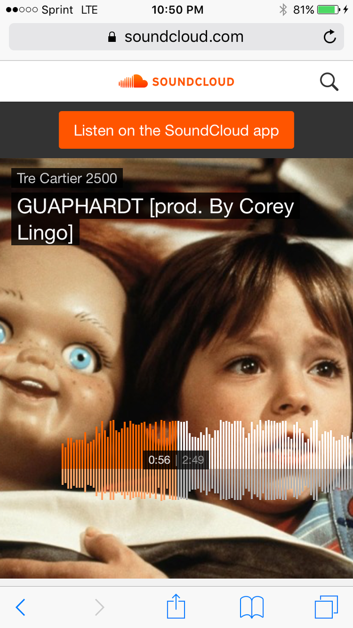 Tre Cartier of 2500 LoftyBoyz x GUAPHARDT
