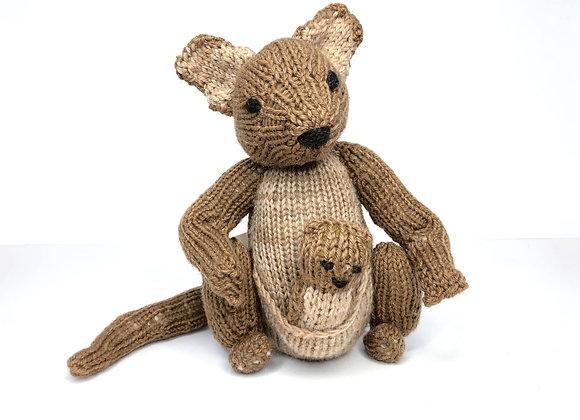 Knitted Kangaroo