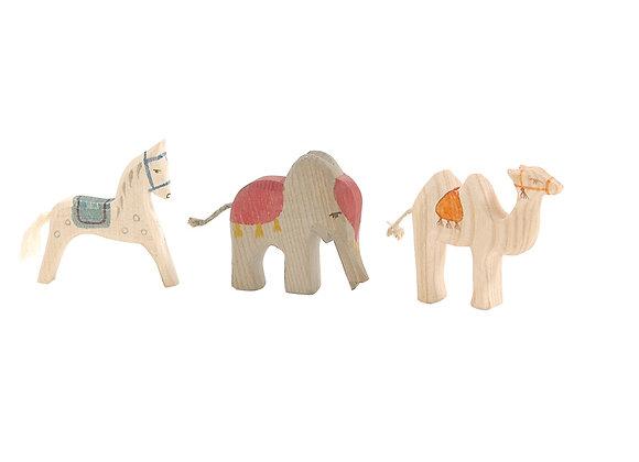 Mini King's Animals 3 Pieces