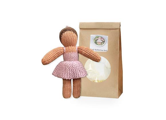 Knit Ballerina Doll