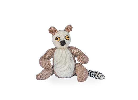 Knitted Ring Tail Lemur