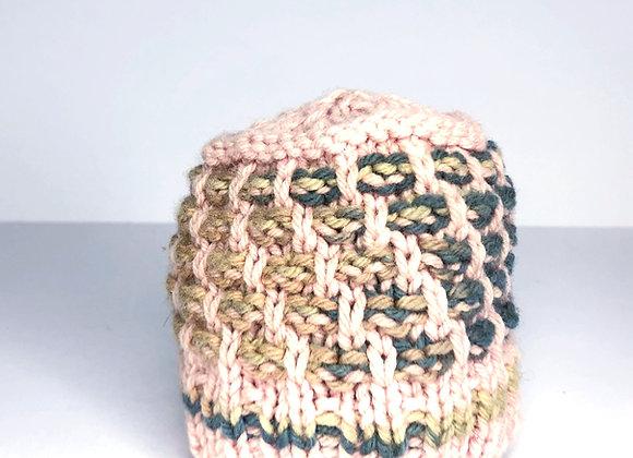 Fancy Slip Stitch Doll Hat