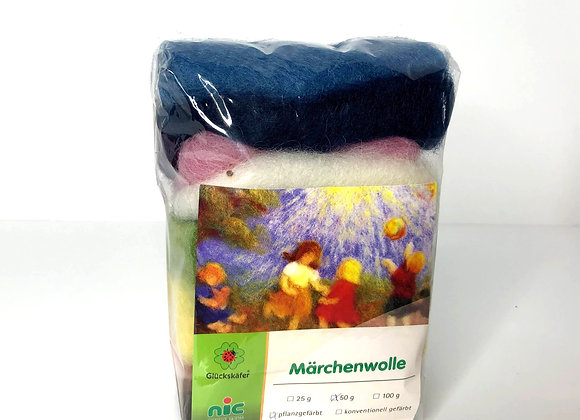 Small Plant Dyed Fleece from Germany