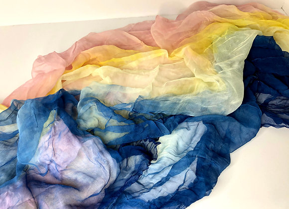 Plant Dyed Silk