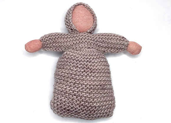 Knitted Bunting Doll