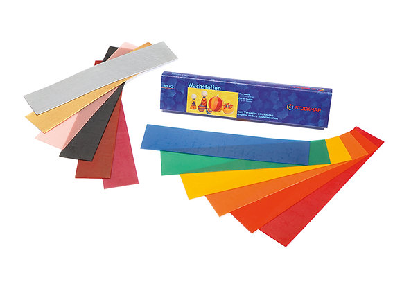 Stockmar Decorating Wax Narrow Box - 12 Assorted