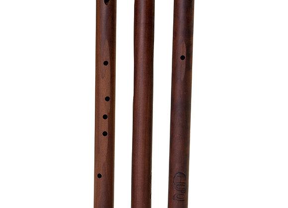 Choroi Quinta Pentatonic Flute Pear Wood 432 Hz No Toneblock