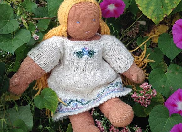 Knit Floral Dress