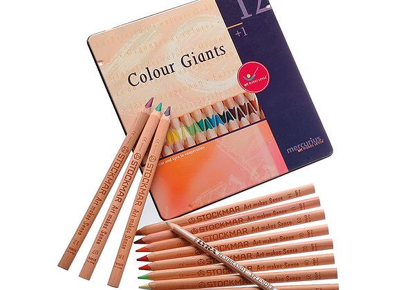 AMS Color Giants Waldorf Box - 12 Colors + 1 Splender
