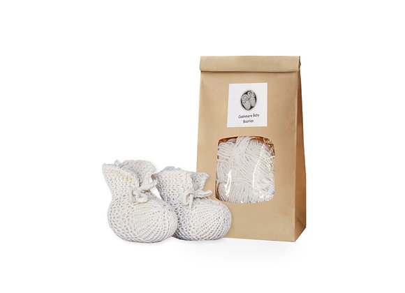 Cashmere Baby Booties