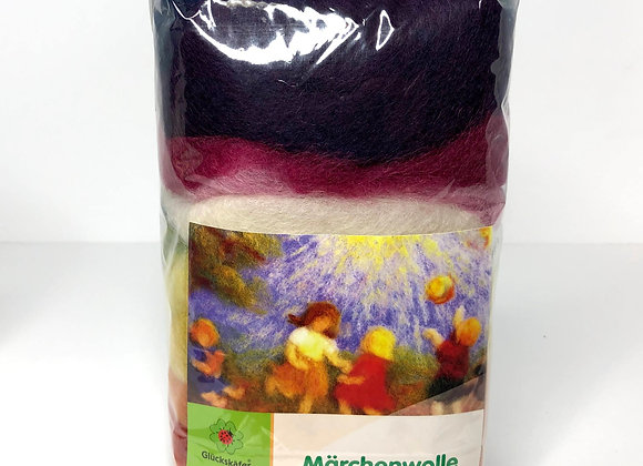 Large Planted Dyed Fleece from Germany