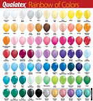 Qualatex Balloon Color Guide