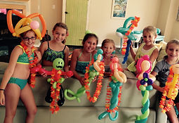 balloon mermaid party Westfield