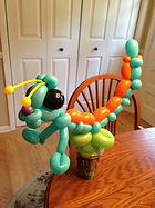 balloon animal candy cup Carmel