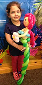 balloon twisting mermaid birthday party Westfield