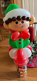 Balloon Twisting Candy Cup Christmas Elf