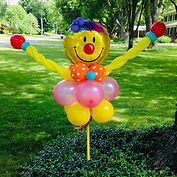 Balloon Yard Art balloon twisting Carmel Indiana