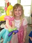 balloon princess party Indianapolis