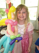balloon princess party Indianapolis