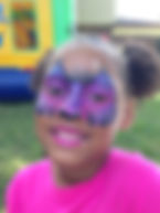 face painting cat face Indianapolis