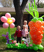 Balloon photo frame Easter Carmel Indana