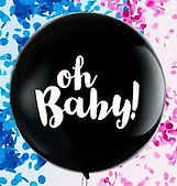 Gender Reveal 3' Balloon Carmel