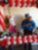 Balloon photo frame Indy 500
