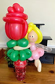 Balloon candy cup Valentines Day Carmel