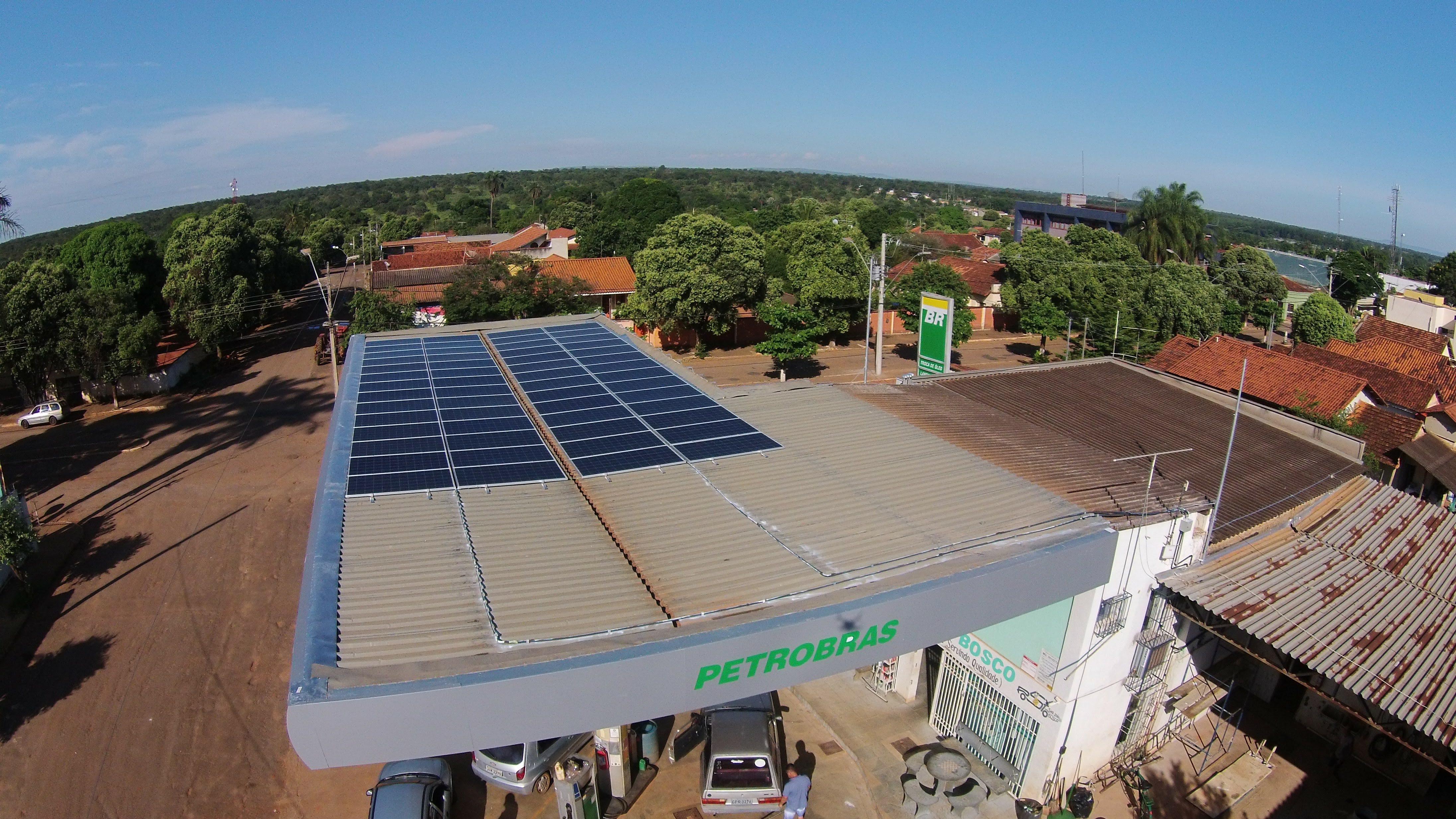 17,28 kWp - Posto Combustível - Morada Nova de Minas MG