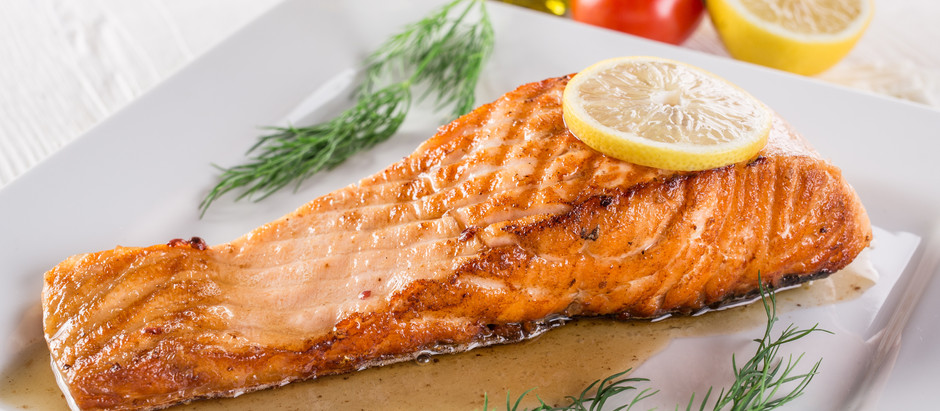 Roasted Salmon & Dill