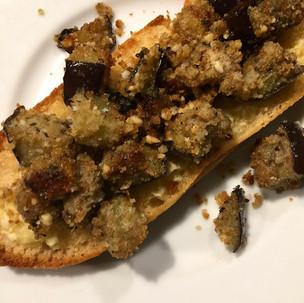 Yummy Eggplant Appetizer