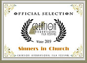 Creation Official Selection Sinners in C