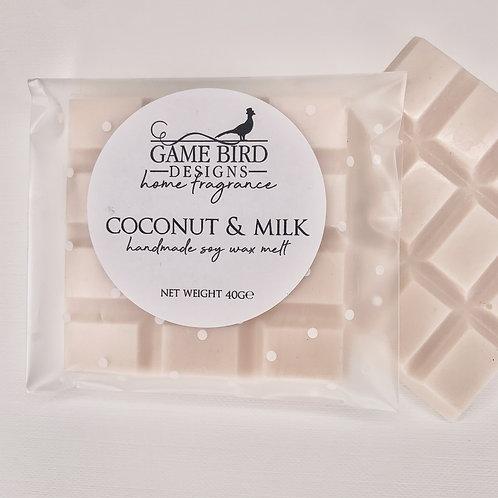 Coconut & Milk Wax Melts
