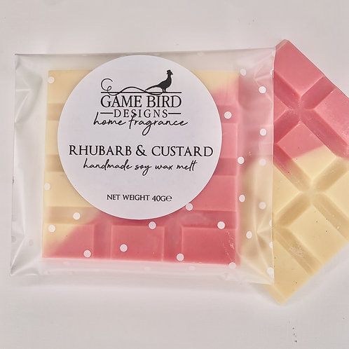 Rhubarb & Custard Wax Melts