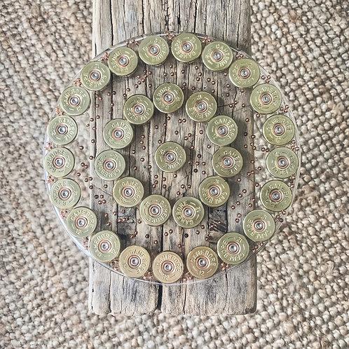 Shotgun Cartridge Round Centrepiece