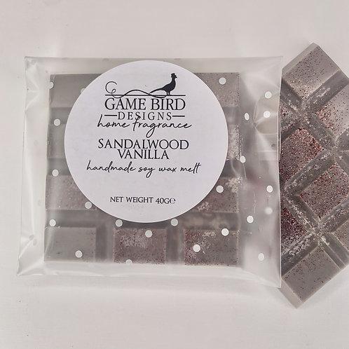 Sandalwood Vanilla Wax Melts