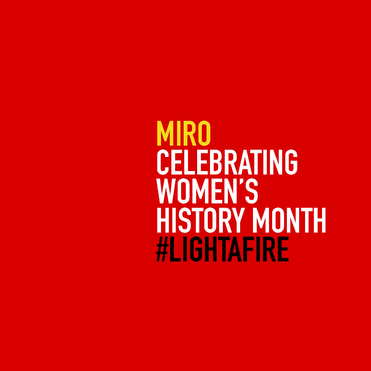 The Women in MIRO - 8 of 8