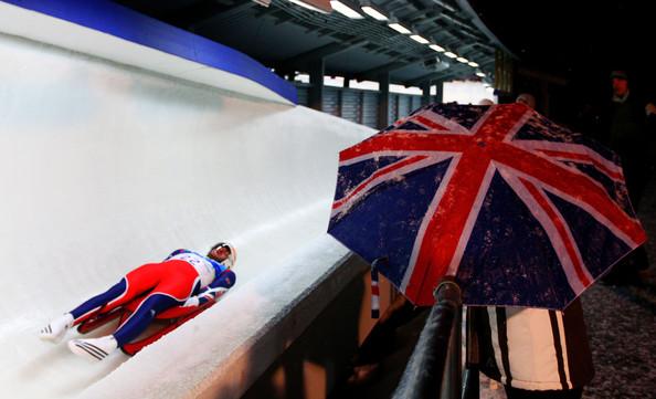 AJ on the track