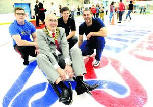 AJ and the Mayor of Swindon