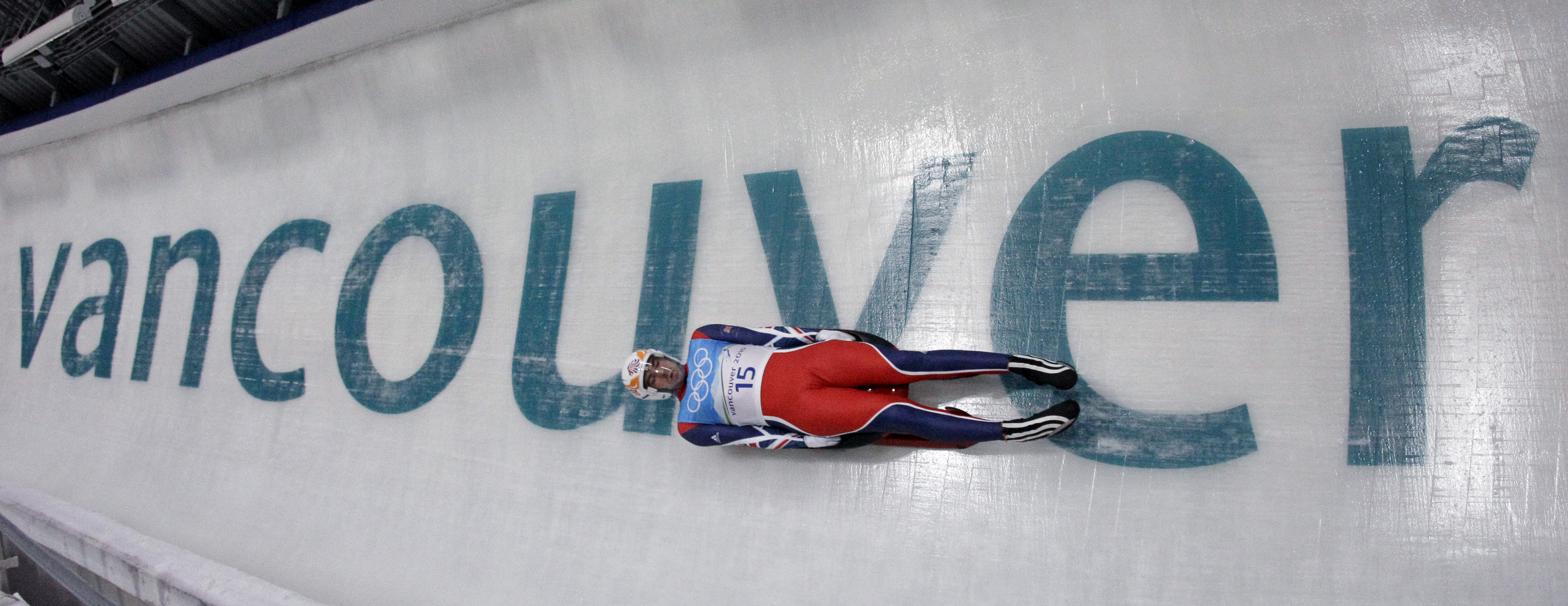 AJ during the Vancouver Olympics