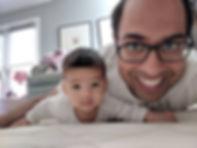 Raj with Luke.jpg