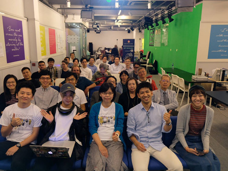 Go VR Immersive Co-Host VR Industry workshop with Global VR/AR Series Hong Kong Community